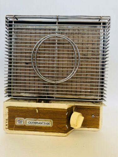 Vintage Olympian RV Camper Trailer Propane LP Portable Heater Furnace