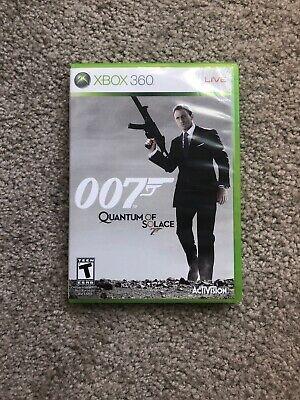 James Bond 007: Quantum of Solace - Xbox 360 Complete CIB Tested
