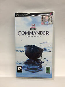 MILITARY-HISTORY-COMMANDER-EUROPE-AT-WAR-SONY-PSP