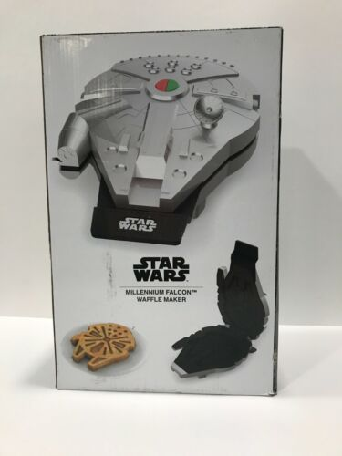 Disney STAR WARS Millennium Falcon Waffle Maker by Uncanny Brands - Never Used!