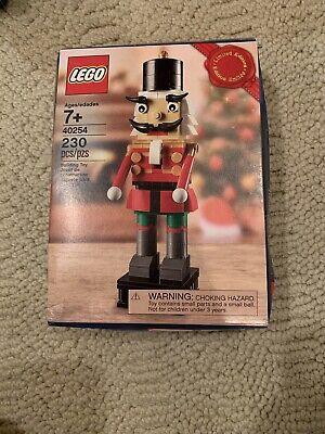 LEGO: Limited Edition Christmas Nutcracker (40254) SEALED Damaged box on side