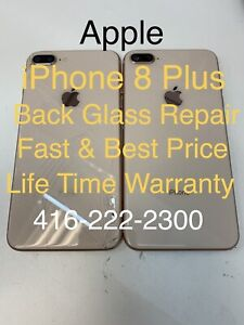 Apple iPhone 8 Plus Rear Glass back cover repair