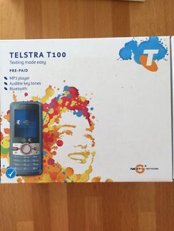 Telstra T100 Prepaid Mobile - RRP $49 - new in box Wembley Downs Stirling Area Preview