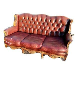 Antique style French sofa  needs Restoration...