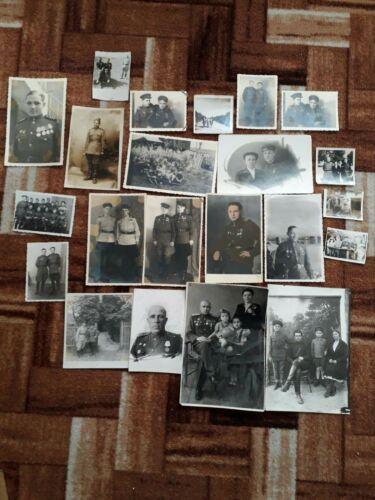 Photo of Soviet servicemen of the second world war