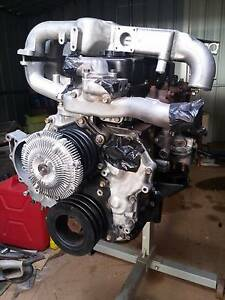 NISSAN NAVARA 3.2L QD32 RECONDITIONED + TURBO + INTERCOOLER +MORE Wandong Mitchell Area Preview