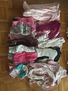 Baby girl clothes. (Lot of NB and snowsuits 3-6m)