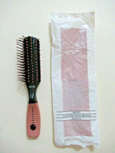 Vintage Avon Custom Hair Brush FINISHING Styler w/ Original Bag New 1991
