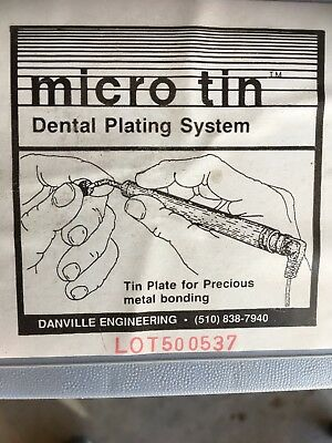 Danville Engineering Micro-tin Dental Metal Bonding Plating System