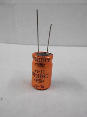 Capacitor 6.3 Volt 2200uf Bag Of 50 Pieces Made By Marcon