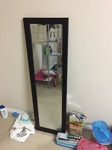 Tall standing mirror
