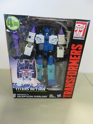 Transformers Titans Return 2016 Dreadnaught Decepticon Overlord ZQ