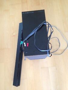 Sony Home Theater Sub-woofer & sound bar - it works but...