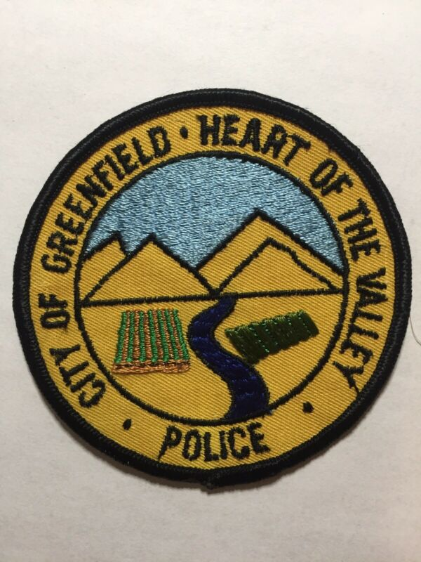 Second Issue Greenfield California Police Patch