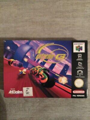extreme-G N64 Nintendo 64 boxed PAL CIB