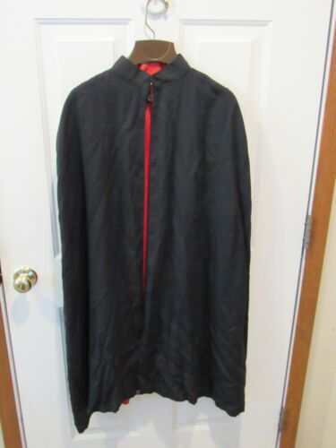 KNIGHTS OF COLUMBUS BLACK CAPE RED LINING  - LYNCH & KELLY