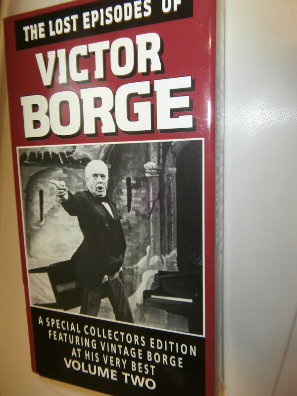 """VHS: """"The Lost Episodes of Victor Borge"""" Vol. Two NOT IN EBAY CATALOG"""
