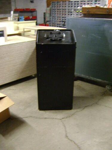RETAIL BLACK PODIUM LECTERN KIOSK STAND COUNTER