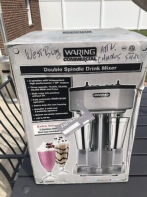 Waring Commercial 2 Drink Mixer In Box