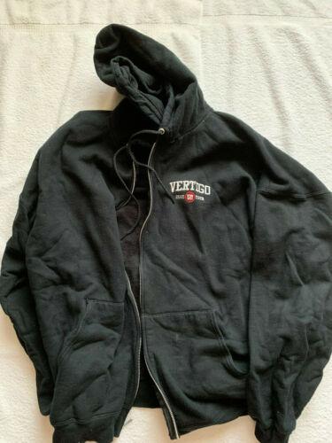 U2 VERTIGO 2005 Rock Concert Sweatshirt Hoodie Black XXL