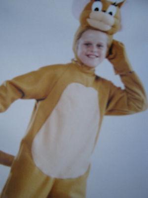Kinderkostüm Kostüm Maus Jerry Gr.98/104 Fasching Karneval NEU komplett Set