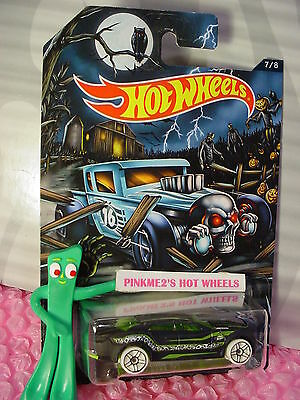 oween #7 RYURA LX∞Black/Green;pr5 white☠Kmart Hot Wheels Excl (Halloween Kmart)