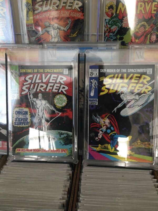 Silver Surfer #1 & #4 Restored (Marvel)