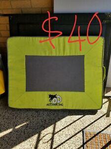 Dog mat/elevated dog bed/dog raincoat