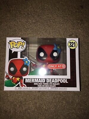 Funko Pop! Marvel Mermaid Deadpool #321 Target Exclusive