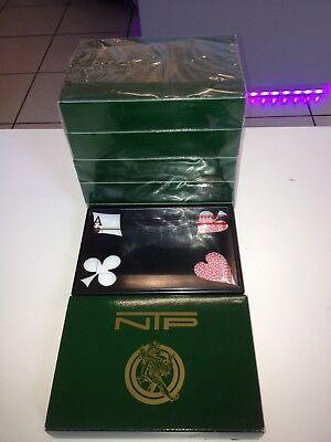 Poker Plastik Karten Spielkarten 10 Decks original NTP CASINO POKER Play CARDS
