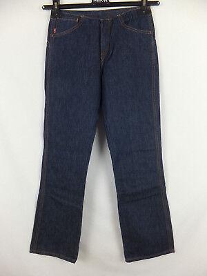 LEVI'S Damen Jeans W 26 / L 32 low waist straight leg  dunkelblau neu m. Etikett