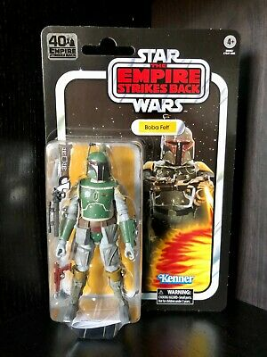 Star Wars Black Series Boba Fett ESB 40th Anniversary Vintage Card Hasbro 6""