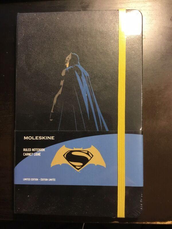 "Moleskine Ltd Ed Ruled ""BATMAN V SUPERMAN: DAWN OF JUSTICE"" Journal"