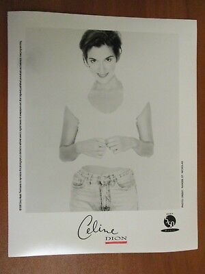 Vtg Glossy Press Photo Singer Celine Dion My Heart Will Go On All By Myself #2