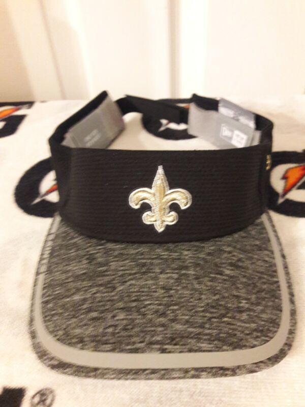 New Orleans Saints Sideline Game Used Worn Visor Hat Cap