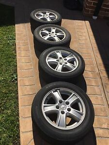 Tyres with Holden Alloy Mags Flinders Shellharbour Area Preview