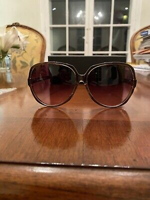 STUNNING NIB OLIVER GOLDSMITH Women's Sunglasses Golden Brown