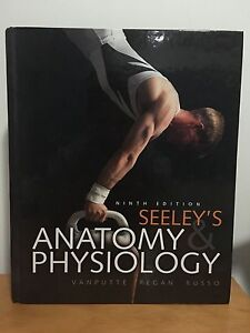 Textbook: Seeleys Anatome and Physiology ninth edition Enoggera Brisbane North West Preview