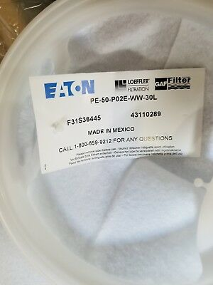 Polypropylene Felt Bag Filter 50 Micron Trade Size 2