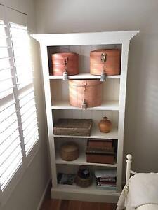 Bookcase - Enamel painted timber Mosman Mosman Area Preview