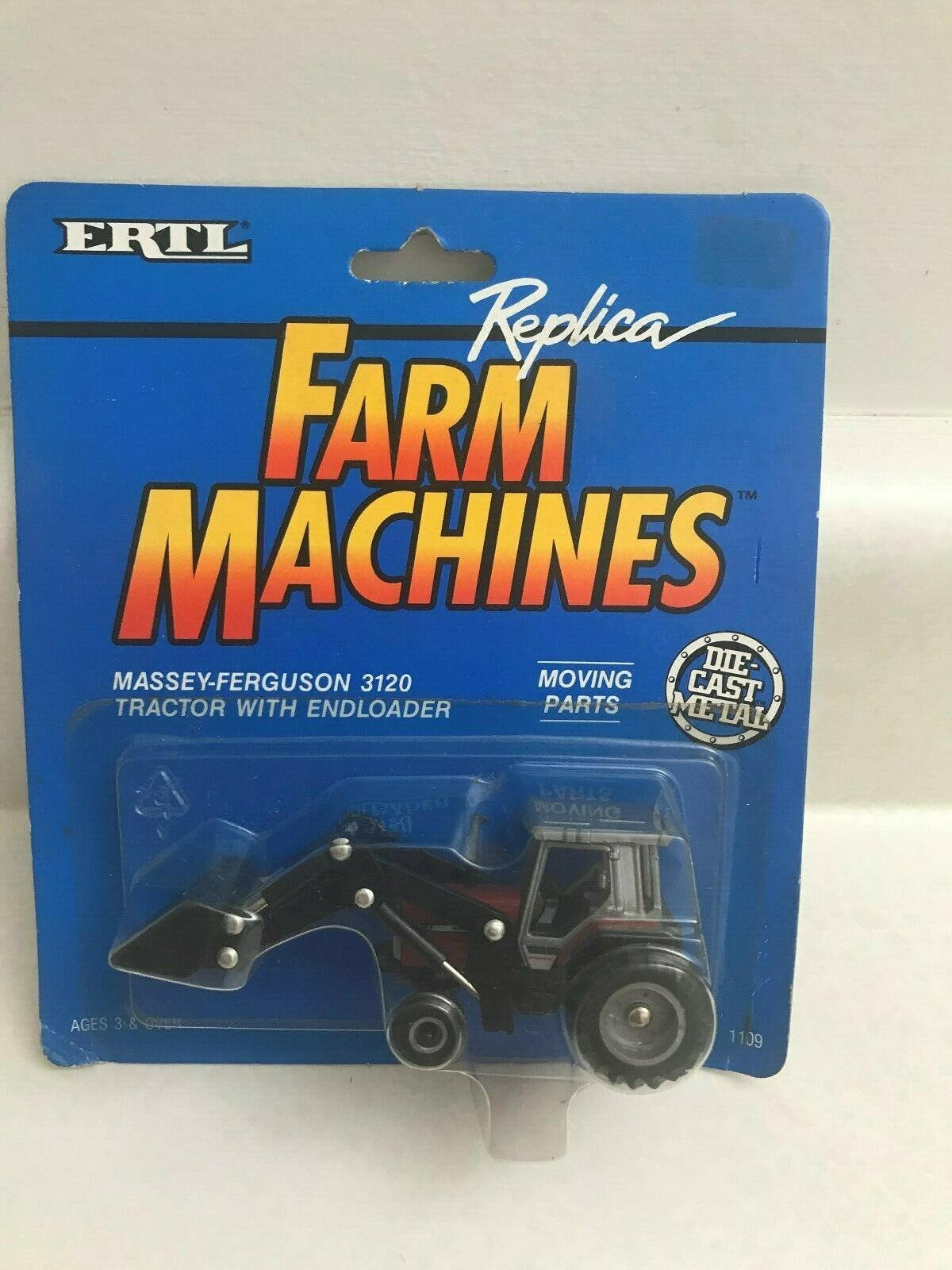 Massey-Ferguson 3120  tractor with endloader 1/64 scale #1109