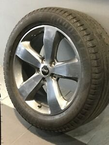 """JEEP GRAND CHEROKEE LIMITED 20"""" GENUINE ALLOY WHEELS AND TYRES Carramar Fairfield Area Preview"""