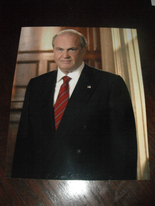 Fred Thompson Color 8x10 Promo Photo Picture Law & Order Red October
