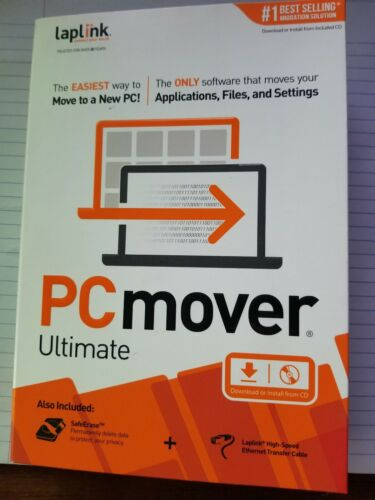 Laplink Software PCmover Ultimate with High Speed Cable