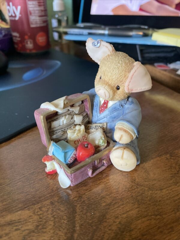 "This Little Piggy Businessman  Figurine ""Pig Business"" 167622"