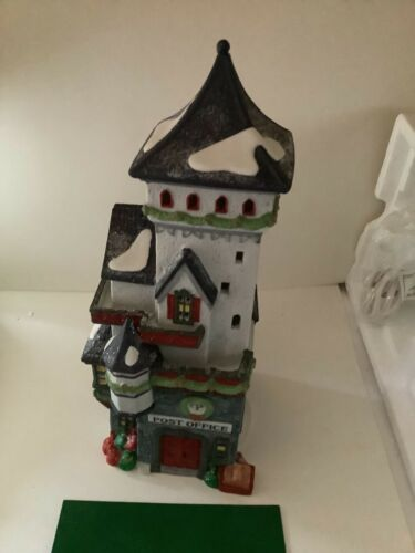 Department 56 Heritage North Pole Series Post Office 1992 5623 w/box