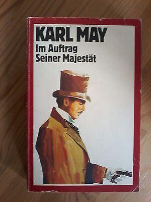 xxx  Karl May, Im Auftrag Seiner Majestät, Buch 1983