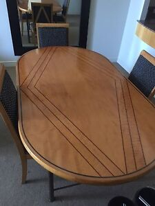 Dinning table with six chairs Smithfield Parramatta Area Preview