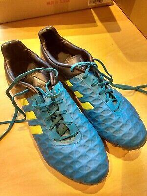 Men's Football boots adidas ACE 15.2 FG AG - Solar Blue Solar Yellow Core Black