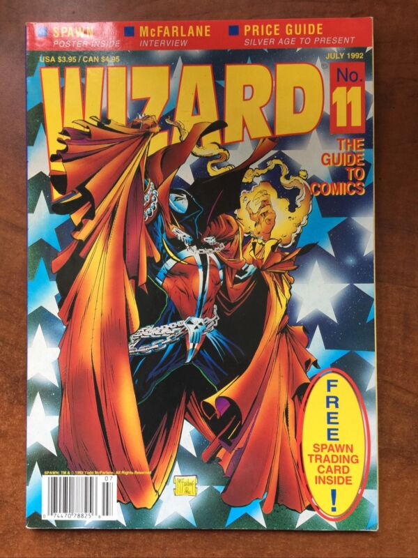 Wizard The Guide To Comics #11 Wizard 1992 No Card or Poster